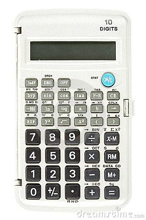 Scientific Calculator Stock Photography.