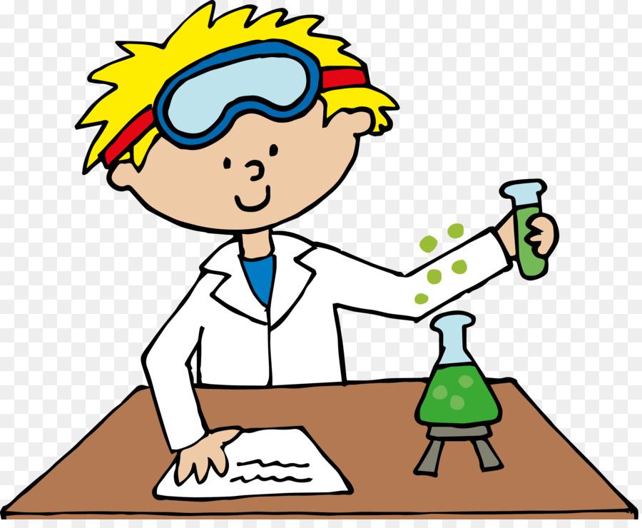 Scientist Cartoon png download.