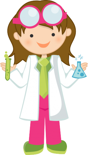 I Love Science Clipart.