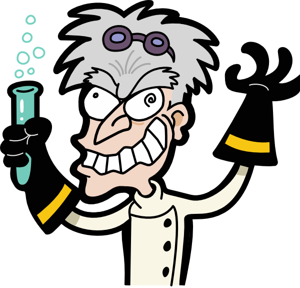 Mad Scientist Transparent Background Clip Art at Clker.com.