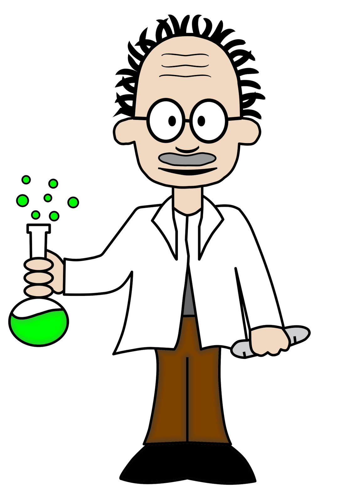 Cartoon Science Scientist Clip art.
