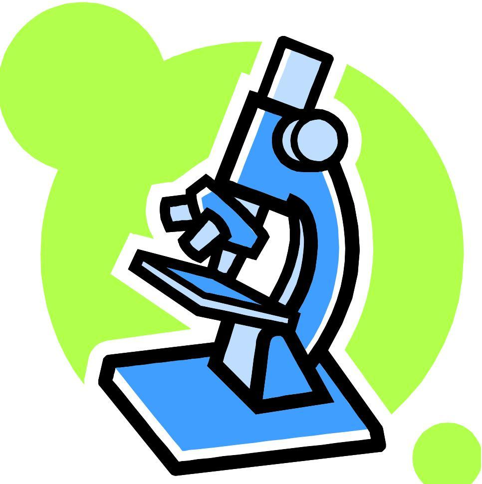 Science microscope clipart » Clipart Portal.