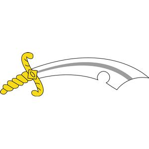 Scimitar clipart, cliparts of Scimitar free download (wmf, eps.