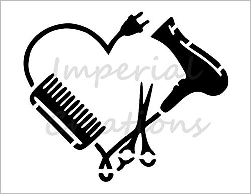 Amazon.com: HAIRDRESSER LOVE Hair Salon Blow Dryer Scissors.