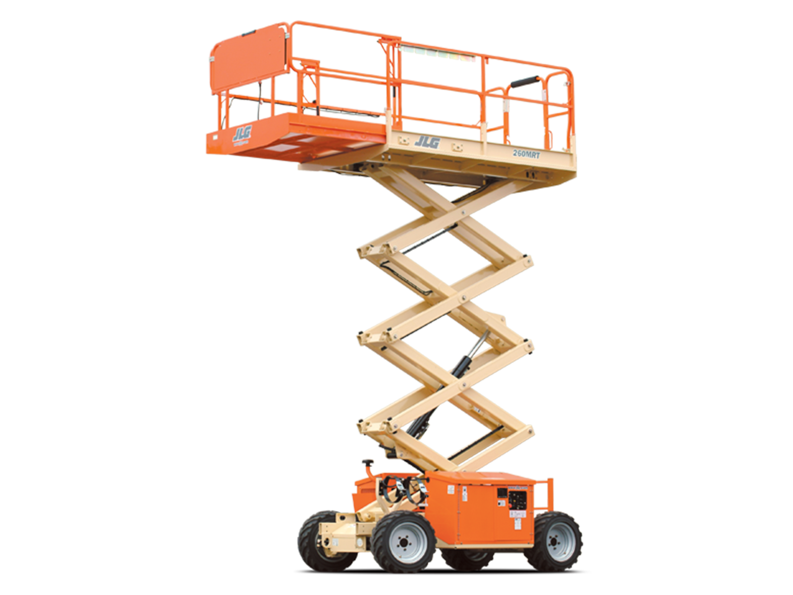 260MRT Engine Powered Scissor Lift.