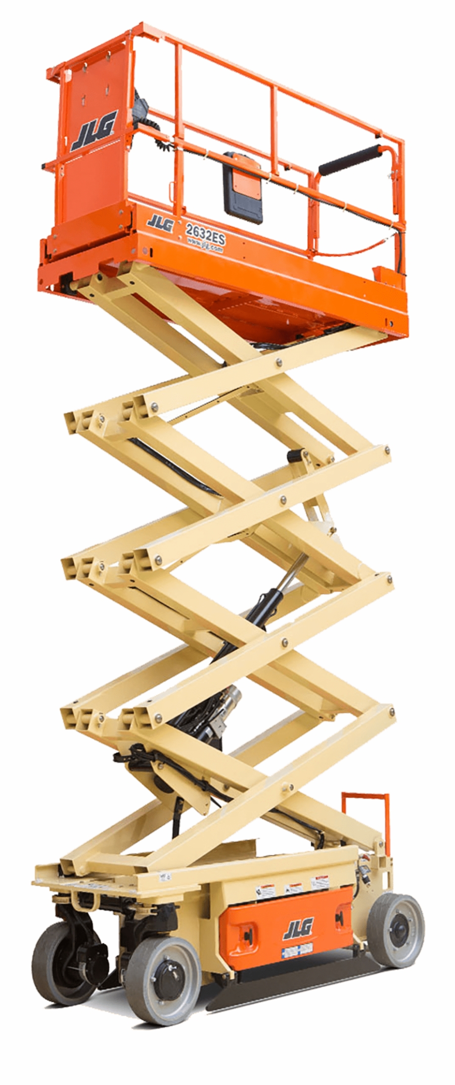 Stevenson Jlg 2632es Electric Scissor Lift Height 25\'6.
