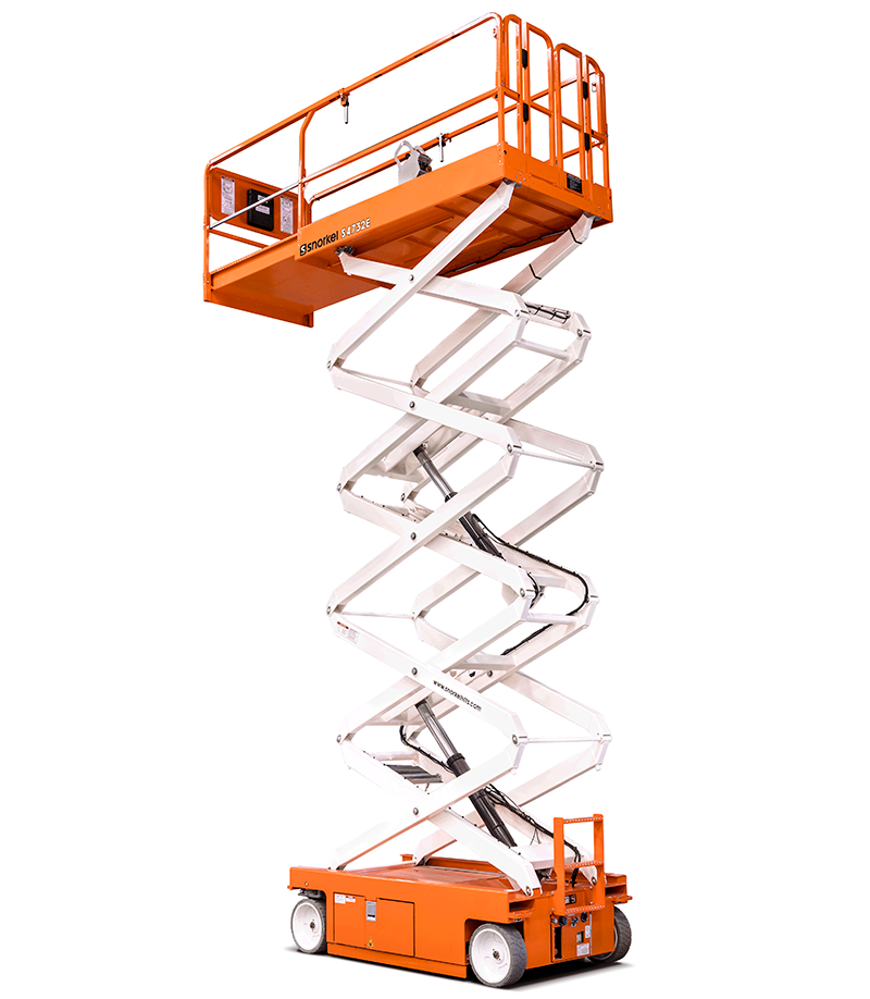 Snorkel S4732E Electric Scissor Lift.
