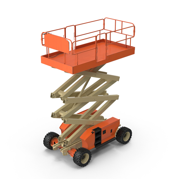 Engine Powered Scissor Lift PNG Images & PSDs for Download.