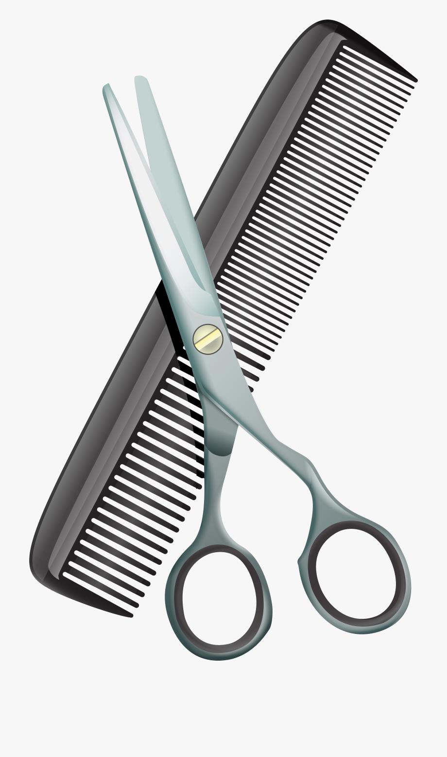 Shears Clipart Comb.