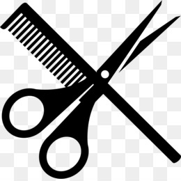Comb Scissors PNG and Comb Scissors Transparent Clipart Free.