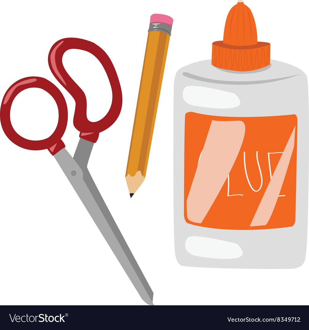 Glue Scissors.