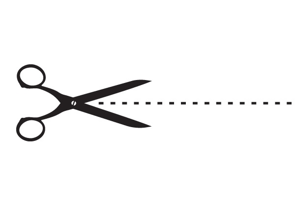 Download Free png Clip art scissors dotted line.