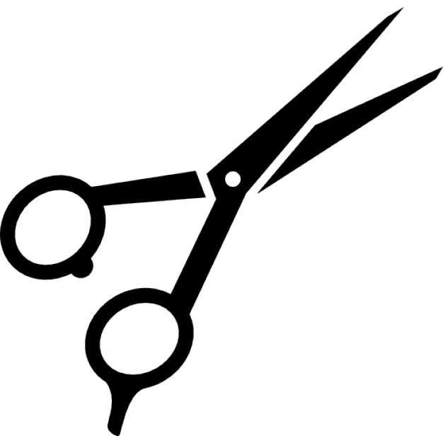 Hairdresser scissors clip art.