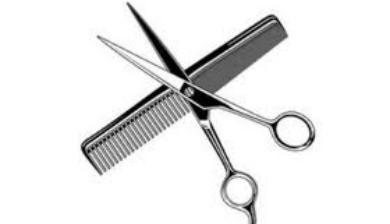 Scissors And Comb Clipart.