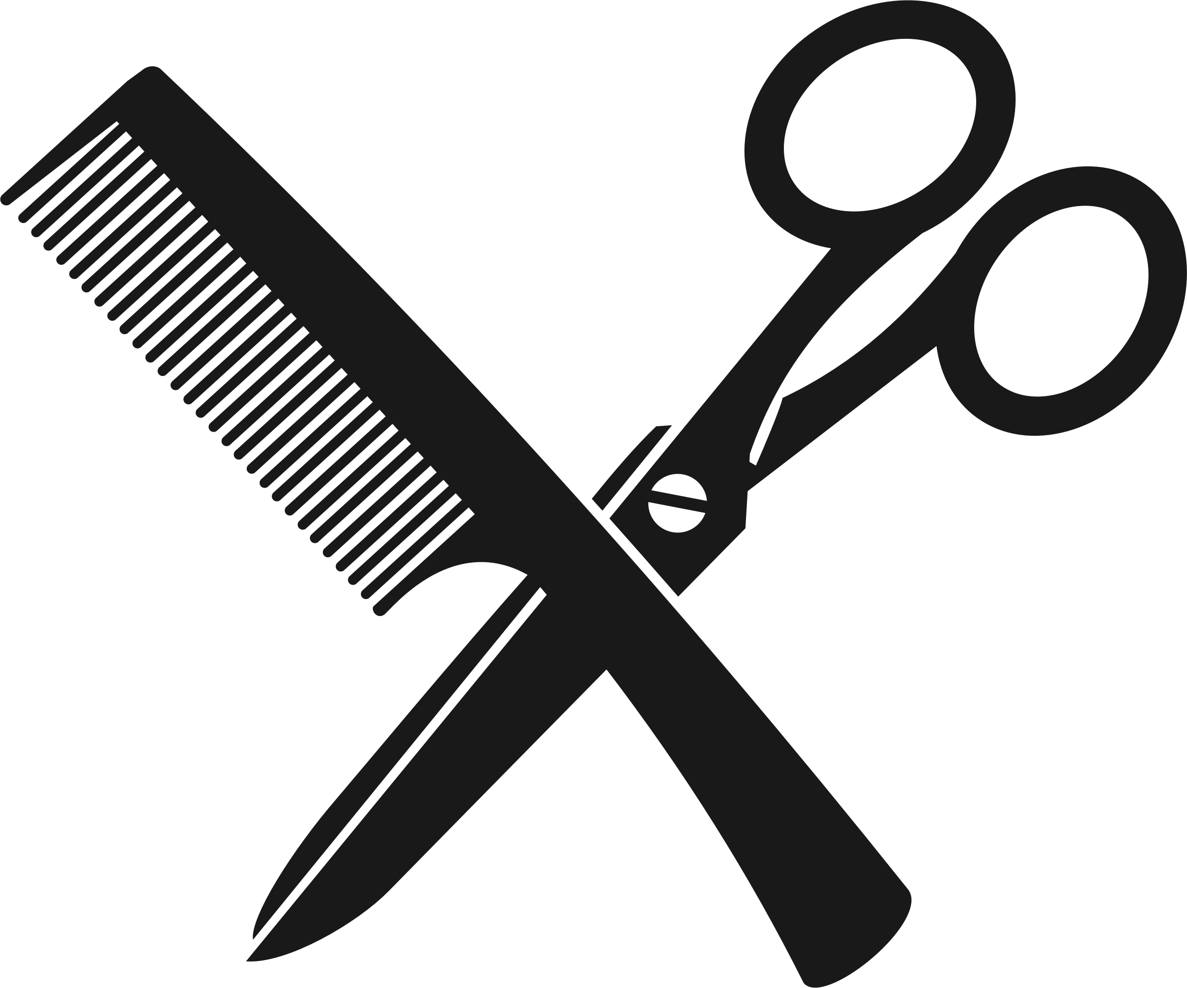Scissor and comb clip art clipart images gallery for free.