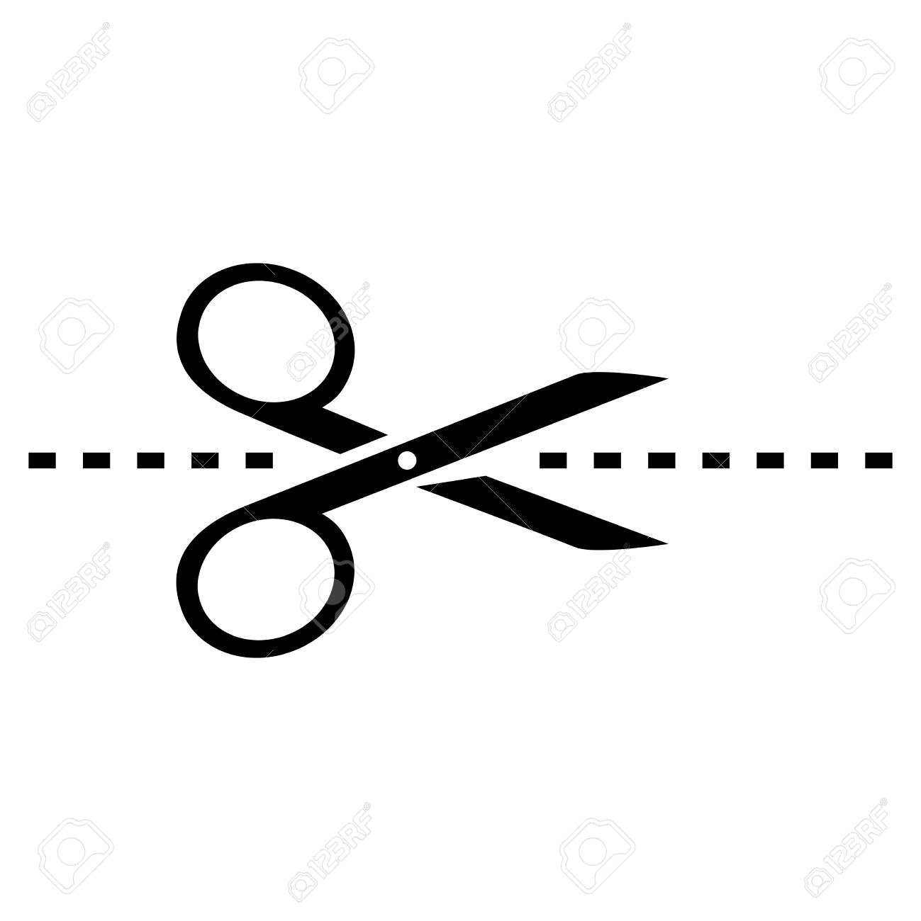 Vector scissors icon » Clipart Station.