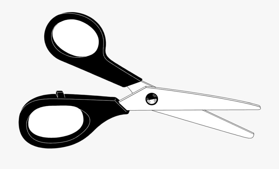 Clip Art Open Scissors Clipart.