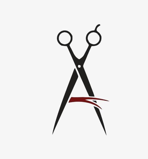 Creative Scissors Logo Material PNG, Clipart, Creative.