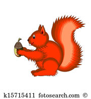 Sciurus Clip Art and Illustration. 26 sciurus clipart vector EPS.