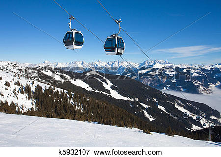 Picture of Cable car going to Schmitten k5932107.