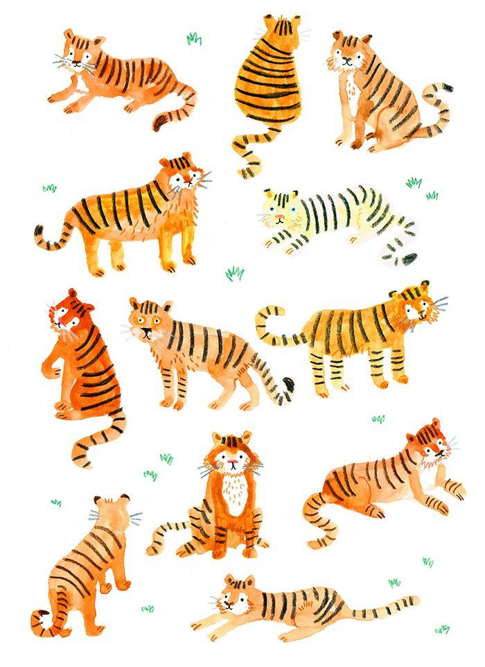1000+ ideas about Tiger Illustration on Pinterest.