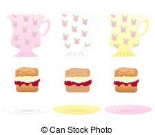 Scones Clip Art and Stock Illustrations. 182 Scones EPS.