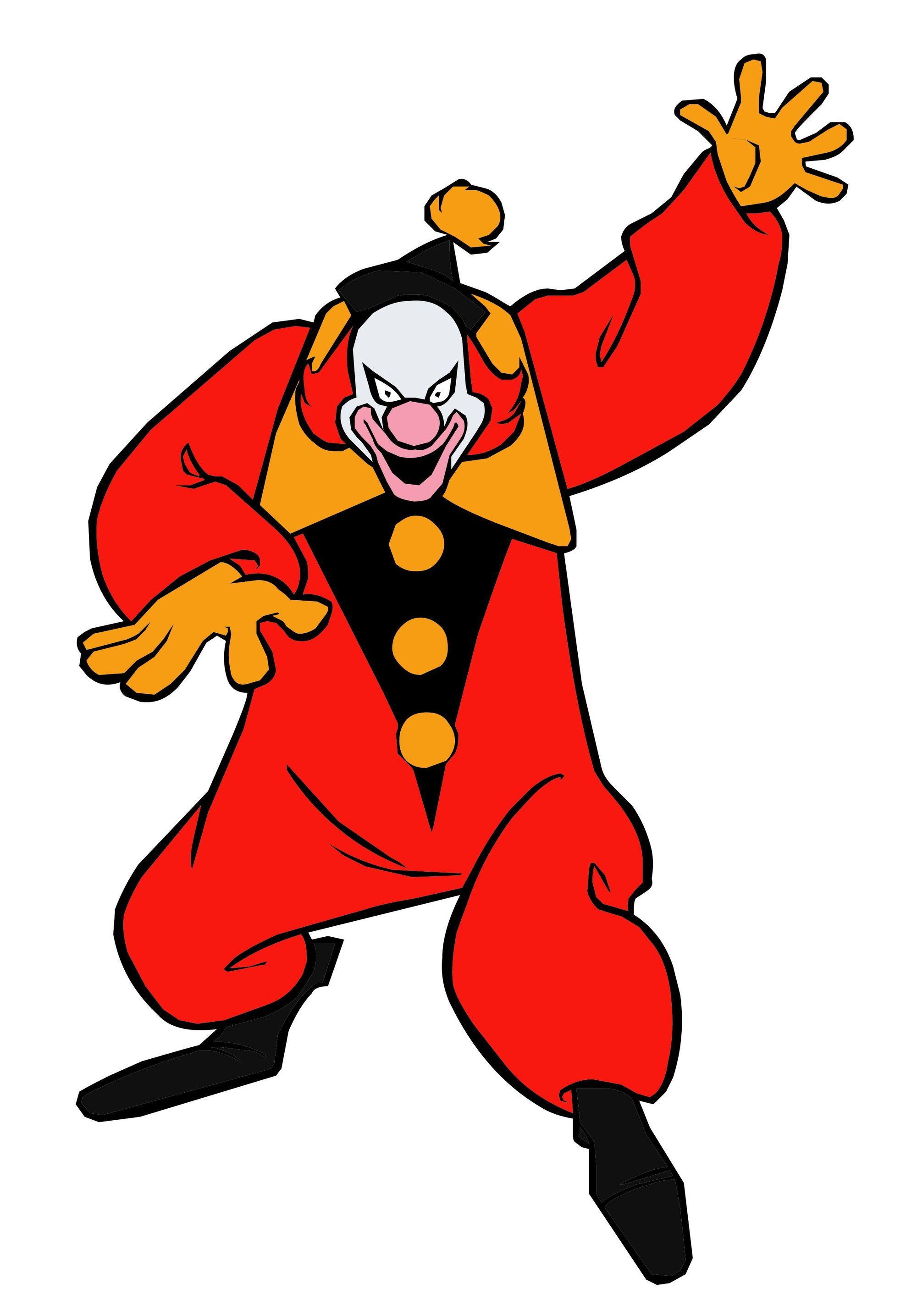 Ghost Clown.