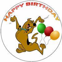 scooby doo happy birthday graphics.