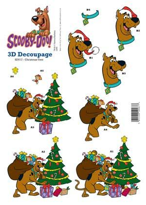 Christmas Tree 3D Scooby.