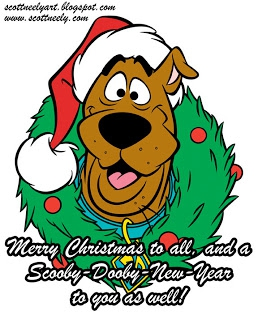 Scooby Doo Christmas Clipart#2135987.