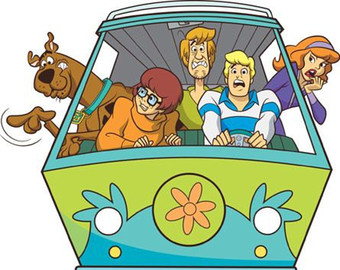 Scooby doo card.