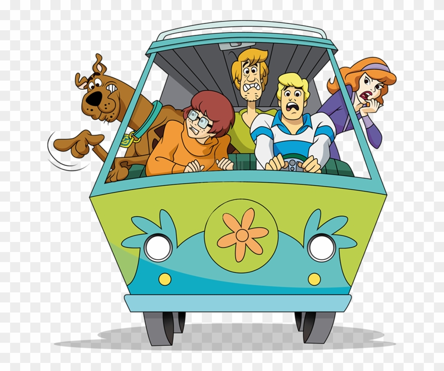 Scooby Doo Mystery Machine Clipart (#542596).