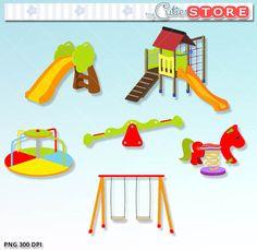 Best Playground Clipart #7438.
