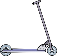 Pro Scooter Clipart.