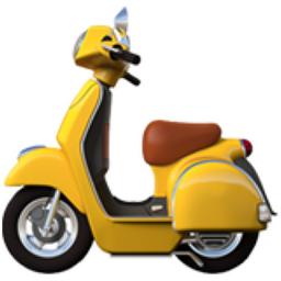 Motor Scooter Emoji (U+1F6F5).