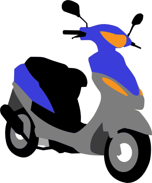 Scooters clipart.