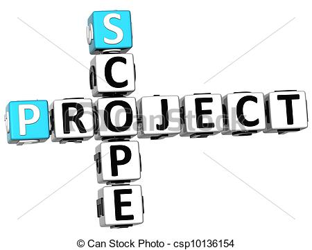 Project scope clipart.