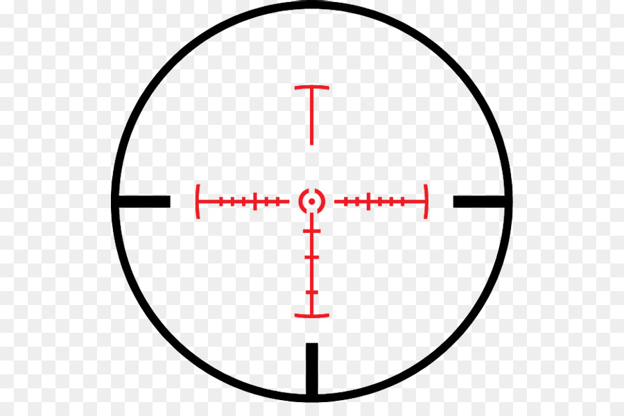 Download Free png Reticle Telescopic sight Clip art Scope.