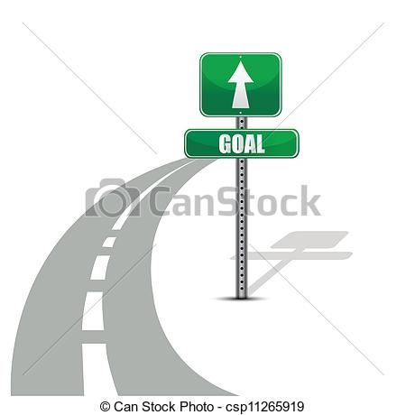Clipart vettoriali di strada, disegno, scopo, illustrazione.