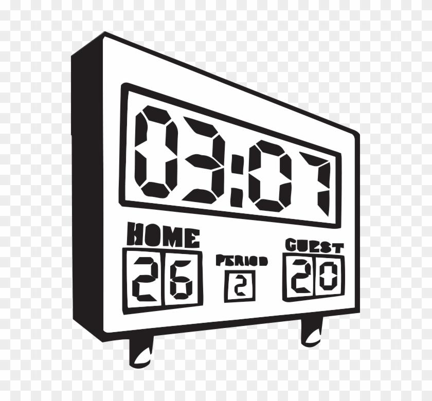 Clock Clipart Basketball.