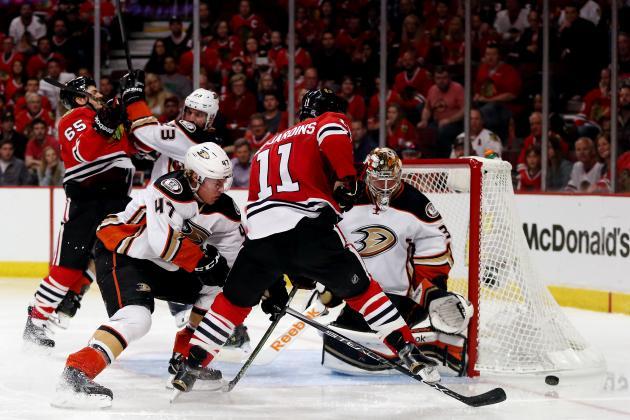 Ducks vs. Blackhawks: Game 4 Live Score, Highlights for 2015 NHL.