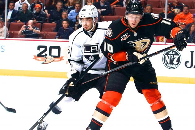 Los Angeles Kings vs. Anaheim Ducks Game 1: Live Score and.