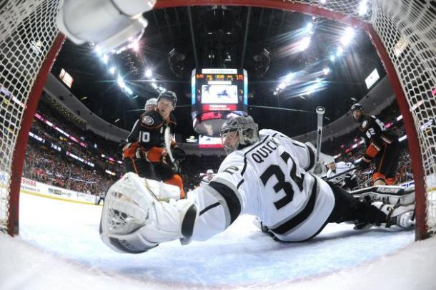 NHL Western Conference Semifinals: Anaheim Ducks Vs. Los Angeles.