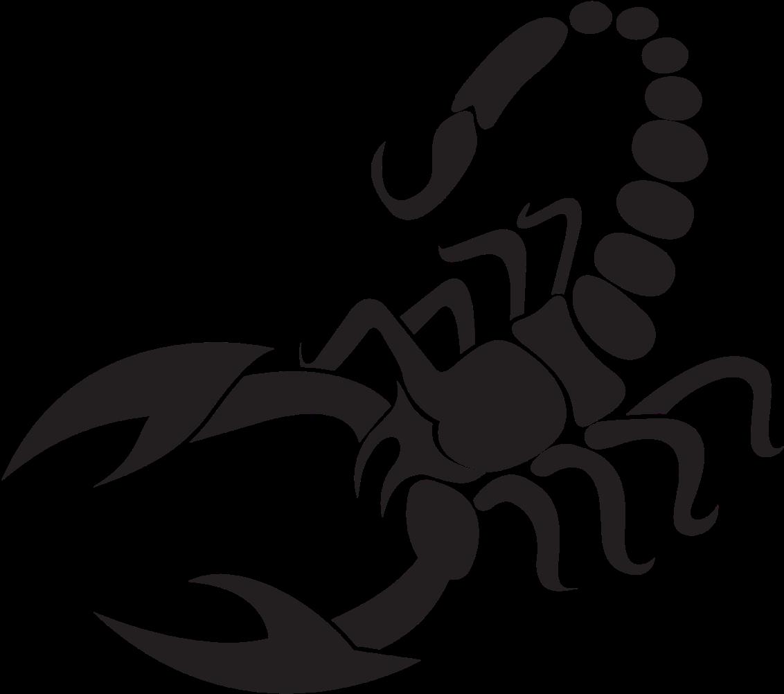 Scorpion Sticker Clipart.