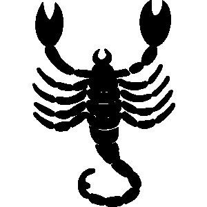Free scorpions clipart graphics images and photos.