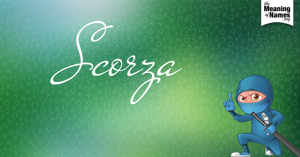 What Does The Name Scorza Mean?.