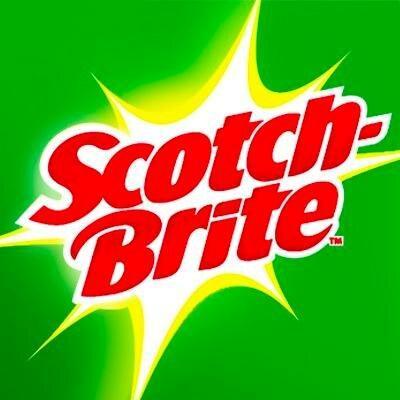 Brite nylon scrub brush 3 set Scotch.