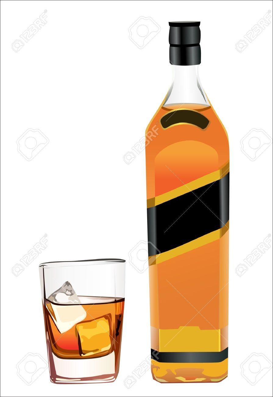 Whisky clipart.