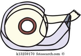 Scotch tape Clip Art Vector Graphics. 630 scotch tape EPS clipart.