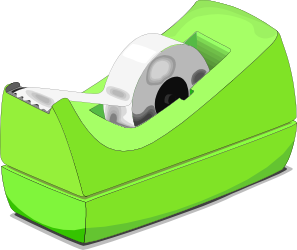 Scotch Tape Roll clip art Free Vector / 4Vector.